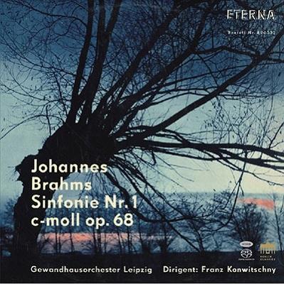 フランツ・コンヴィチュニー/ブラームス: 交響曲第1番、モーツァルト: アダージョとフーガ、ベートーヴェン: 大フーガ (1961,62年ステレオ録音)<タワーレコード限定>[0301397BC]