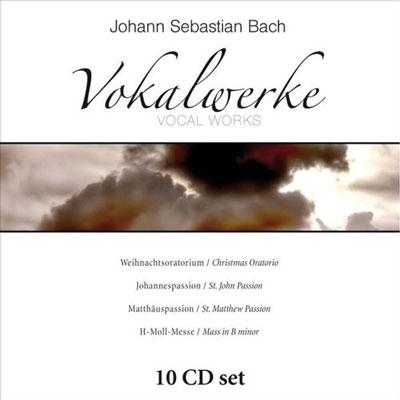 J.S.Bach: Vocal Works - Christmas Oratorio, St.John Passion, St.Matthew Passion, Mass in B Minor (10-CD Wallet Box)[231887]