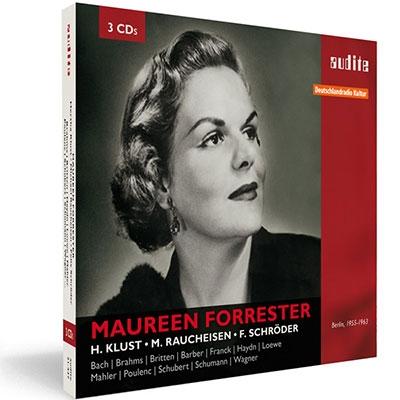 モーリーン・フォレスター/Maureen Forrester - 1955-1963 Studio Recordings [AU21437]