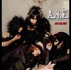 A.S.K. (ヴィジュアル)/安定剤 [CD+DVD] [DTR-114]