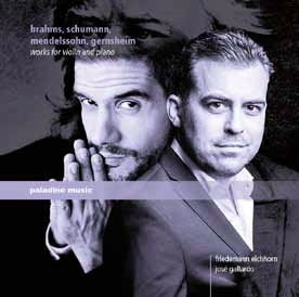 ブラームス、シューマン、メンデルスゾーン&ゲルンスハイム: ヴァイオリンとピアノのための作品集<期間限 CD
