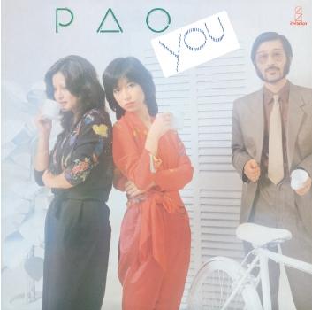 PAO (コーラス・グループ)/YOU<タワーレコード限定>[NCS-10101]