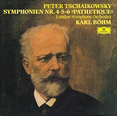 カール・ベーム/チャイコフスキー: 交響曲第4番・第5番・第6番《悲愴》<タワーレコード限定>[PROC-2254]