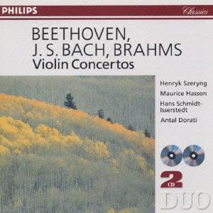 ベートーヴェン、バッハ、ブラームス:ヴァイオリン協奏曲