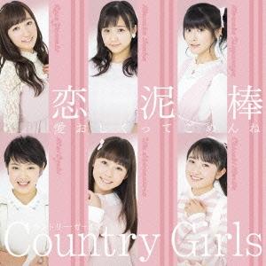 愛おしくってごめんね/恋泥棒 [CD+DVD]<初回生産限定盤B>