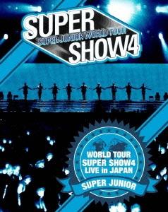 SUPER JUNIOR WORLD TOUR SUPER SHOW4 LIVE in JAPAN<初回生産限定盤> Blu-ray Disc