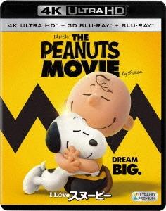I LOVE スヌーピー THE PEANUTS MOVIE [4K Ultra HD Blu-ray Disc+3D Blu-ray Disc+Blu-ray Disc]