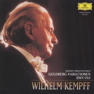 ヴィルヘルム・ケンプ/J.S.バッハ:ゴルトベルク変奏曲BWV988<限定盤>[POCG-90104]