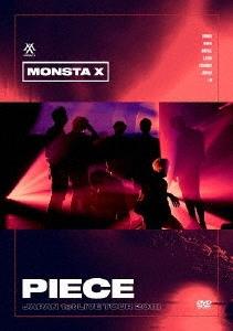 """MONSTA X, JAPAN 1st LIVE TOUR 2018 """"PIECE"""" DVD"""