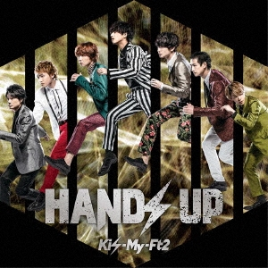 HANDS UP [CD+DVD]<初回盤A> 12cmCD Single