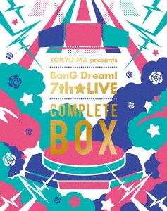 TOKYO MX presents BanG Dream! 7th★LIVE COMPLETE BOX Blu-ray Disc