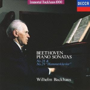 ヴィルヘルム・バックハウス/不滅のバックハウス1000: ベートーヴェン:ピアノ・ソナタ第28番 第29番《ハンマークラヴィーア》<限定盤>[UCCD-9162]