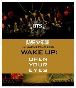 防彈少年團 1st JAPAN TOUR 2015「WAKE UP:OPEN YOUR EYES」 Blu-ray Disc