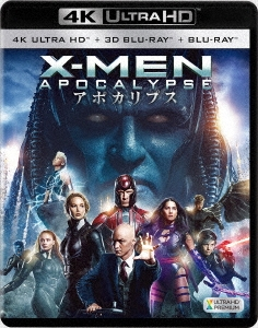 ブライアン・シンガー/X-MEN:アポカリプス<4K ULTRA HD + 3D + 2Dブルーレイ/3枚組>[FXHA-64747]
