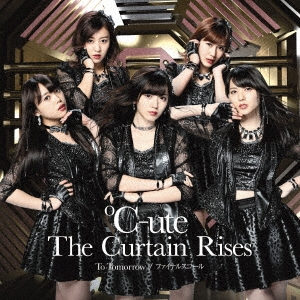 ℃-ute/To Tomorrow/ファイナルスコール/The Curtain Rises [CD+DVD]<初回生産限定盤SP>[EPCE-7320]