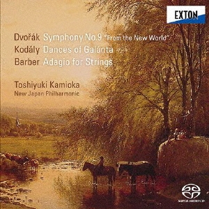 ドヴォルザーク:交響曲第9番「新世界より」 コダーイ:ガランタ舞曲 バーバー:弦楽のためのアダージョ SACD Hybrid