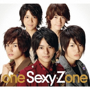 one Sexy Zone [CD+DVD+写真集]<初回限定盤>