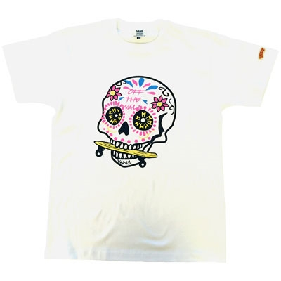 VANS×TOWER RECORDS MEX SKULL Tee WHITE/S[MD01-2393]