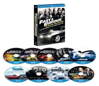 ワイルド・スピード 9ムービー・ブルーレイ・コレクション<期間限定生産版> Blu-ray Disc