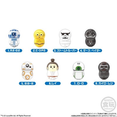 クーナッツ STAR WARS(全8種ブラインド) Accessories