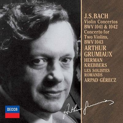 J.S.バッハ:ヴァイオリン協奏曲第1番・第2番 2つのヴァイオリンのための協奏曲<限定盤>