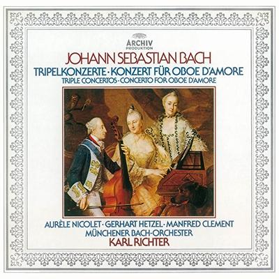ゲルハルト・ヘッツェル/J.S.バッハ: フルート, ヴァイオリンとチェンバロのための協奏曲, 他 <特別収録>無伴奏ヴァイオリン・ソナタ第2番<タワーレコード限定>[PROC-1631]