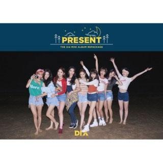 DIA (Korea)/Present: 3rd Mini Album Repackage (Good Night Ver.)[INT0122]