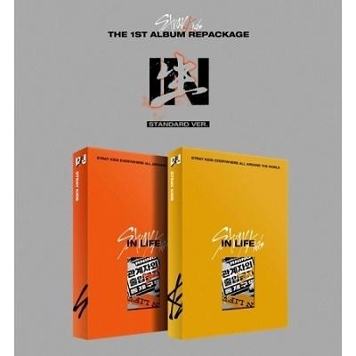 IN生 (IN LIFE): Stray Kids Vol.1 (Repackage)(STANDARD Ver.)(ランダムバージョン) CD