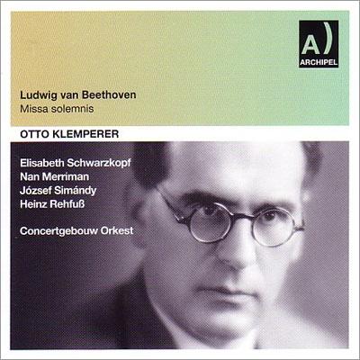 オットー・クレンペラー/Beethoven: Missa Solemnis Op.123[ARPCD0498]