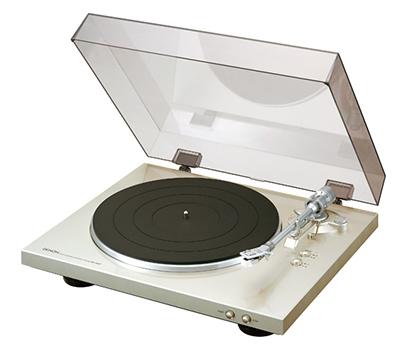 DENON フルオート・レコード・プレイヤー DP300/Premium Silver [DP300FSP]