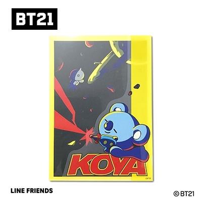 BT21 ダイカットクリアファイル Vol.3/KOYA Accessories