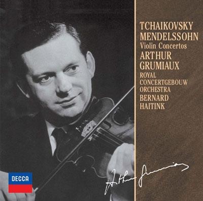 アルテュール・グリュミオー/チャイコフスキー/メンデルスゾーン:ヴァイオリン協奏曲<限定盤>[UCCD-9818]