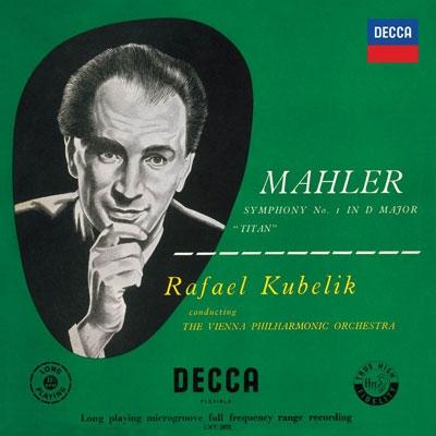 ラファエル・クーベリック/マーラー: 交響曲第1番「巨人」; チャイコフスキー: 幻想序曲「ロメオとジュリエット」; ドヴォルザーク: スラヴ舞曲集 [PROC-1386]