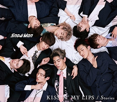 KISSIN' MY LIPS/Stories [CD+DVD]<初回盤A> 12cmCD Single