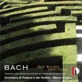マルコ・アンジウス/J.S.Bach: Die Kunst der Fuge - Version &Instrumentation by H.Scherchen[STR37008]