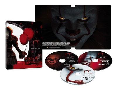 "IT/イット THE END ""それ""が見えたら、終わり。 スチールブック仕様 [4K Ultra HD Blu-ray Disc+2Blu-ray Disc]<数量限定生産版>"