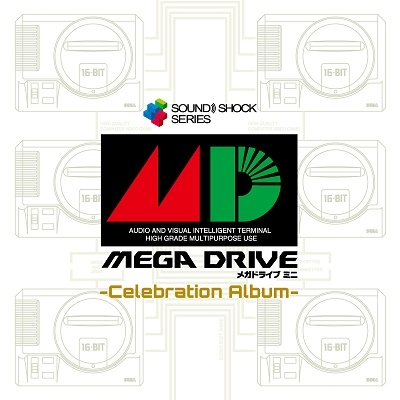 Mega Drive Mini -Celebration Album- CD