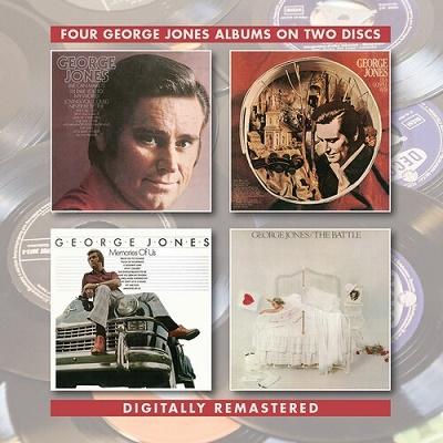 George Jones/In a Gospel Way/Memories of Us/The Battle