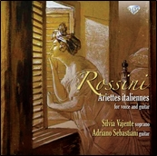 シルヴィア・ヴァエンテ/Rossini - Ariettes Italiannes for Voice and Guitar[BRL94628]