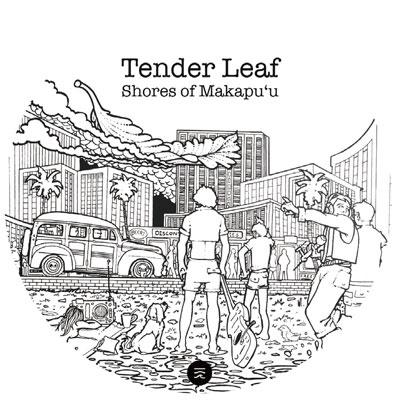 Tender Leaf (Hawaiian)/Shores of Makapuu/Coast To Coast[AGS046BLK]