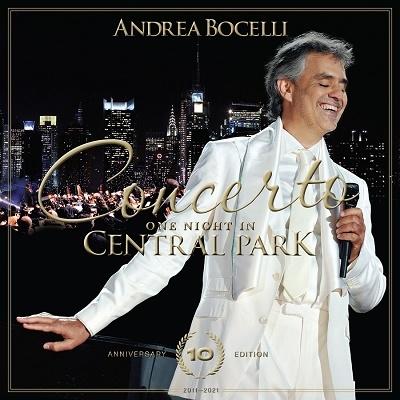奇蹟のコンサート~セントラルパークLIVE 10周年記念盤 [CD+DVD]<限定盤>