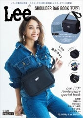 Lee SHOULDER BAG BOOK BLACK Book