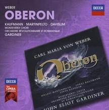ウェーバー: 歌劇『オベロン』(英語版全曲) CD
