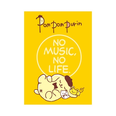 ポムポムプリン × TOWER RECORDS ブック型付箋メモ 2017 [MD01-3019]