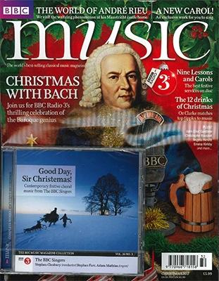 BBC MUSIC 2017年 Christmas [71815]
