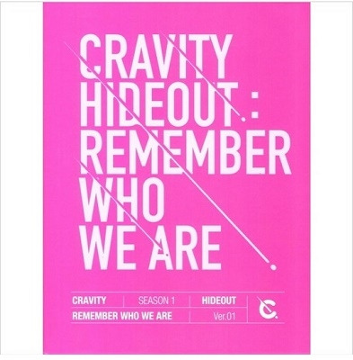 Cravity Season1 Hideout: Remember Who We Are (Ver.1) CD