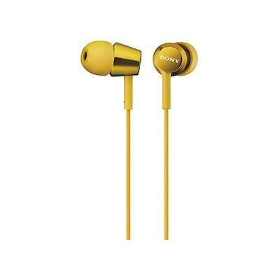SONY 密閉型インナーイヤーレシーバー MDR-EX150/Yellow[MDREX150YQ]