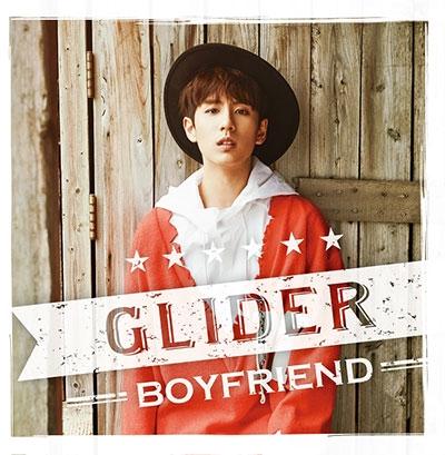 BOYFRIEND/GLIDER メンバー別ジャケット盤(ミヌ)[TSBD-5010]