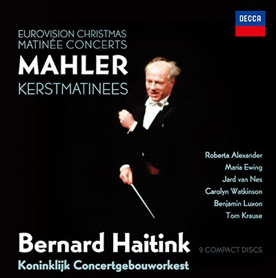 ベルナルト・ハイティンク/マーラー: 交響曲集~クリスマス・マチネ・ライヴ(第1番-第5番, 第7番, 第9番), 他 [PROC-1952]