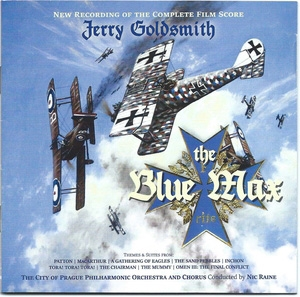 Jerry Goldsmith/The Blue Max (Complete)/Plus Jerry Goldsmith Themes And Suites (作品集)[TADLOW020]